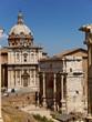 rom, die ewige stadt, st  luca e martina kirche, forum romanum