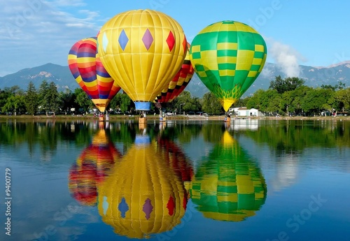 Hot Air Balloons - 9400779