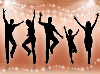 Giovani che ballano