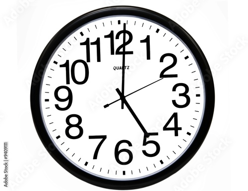 Clock Showing 10 O'clock Clock Showing 5 O'clock