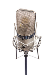 Microphone in vintage style