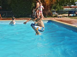 wasserspass waehrend sommerferien