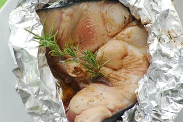 Trancio di pesce spada al cartoccio - Secondi di pesce