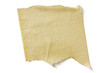 Textured torn masking tape, with clipping path