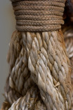 Macro shot on rope