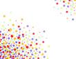 confettis couleurs