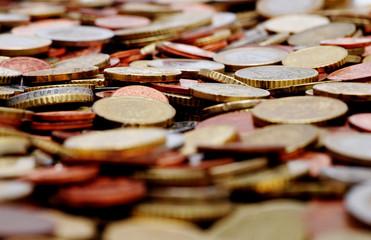 Euro Münzen - Detail