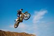 Fototapete Motocross - Motor - Beim Sport