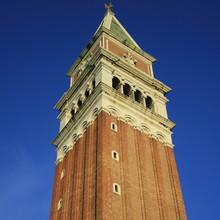 détail du campanile de venise