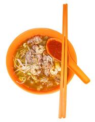 Penang hawker delight - Hokkien Mee (Prawn noodles)