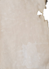 old paper with hole great as a background