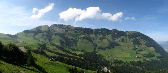Panorama Back of Stanserhorn