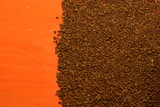 soluble coffee granules poster