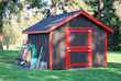 Garden Shed beneath the trees - 9449787