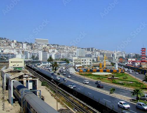 Aluminium Algerije Algeri ferrovia