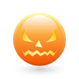 Halloween smile icon