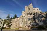 Buildings in university of British Columbia poster