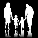 Ideal family , vector work poster