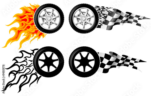 Sports Race Emblems - third set