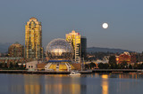 science world and moonrise poster