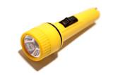 Flashlight isolated over white