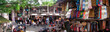 Leinwandbild Motiv Bali Shopping