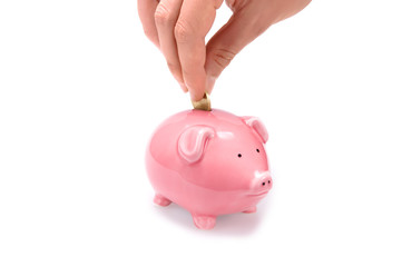 Save money with piggy bank!