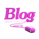 Blog in Pink poster