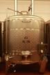 Edelstahl Tank zur Weinveredelung, Weinkeller, Stahltank
