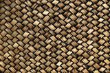 Wicker weave poster