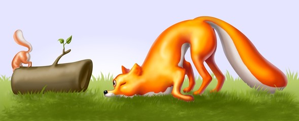 the fox and the curiosity