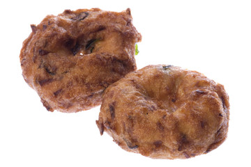 Indian Vada fried pastry.