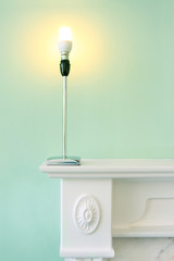 electric lamp with energy saving bulb