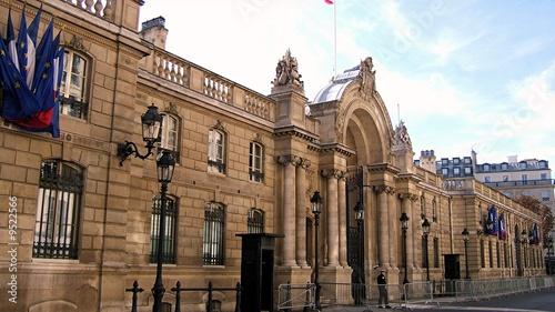 Leinwandbild Motiv Palais de l'Elysée