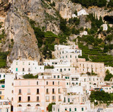 landscape for classics mediterranean houses of Atrani