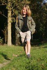 enfant randonnée nature marche