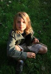 portrait enfant nature