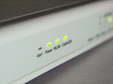 Wireless router for office network poster