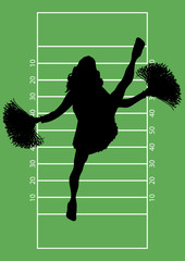Football Cheerleader 5