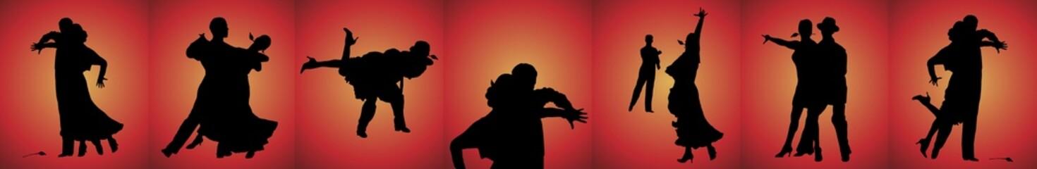 Tango Dancers Banner