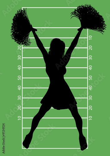 Football Cheerleader 6