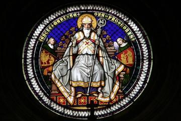 rosone mosaico di San Martino