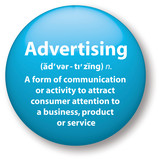 Advertising Icon poster
