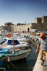 Harbour in Rhodes