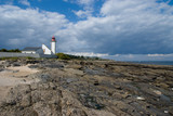 Beautiful lighthouse taken from the rocks