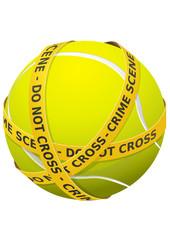Tennis et criminalité (détouré)