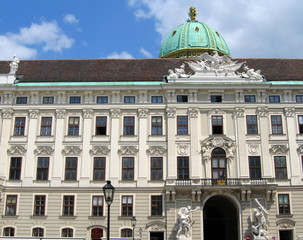 palais de la Hofburg (Vienne)