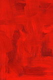 Abstract crimson oil painting. Highly detailed brush strokes. poster
