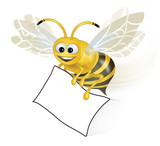 Bee Happy with paper