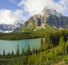 bow lake, banff, alberta, national park